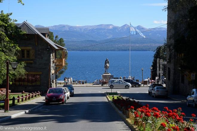 Vista sul lago Nahuel Huapi