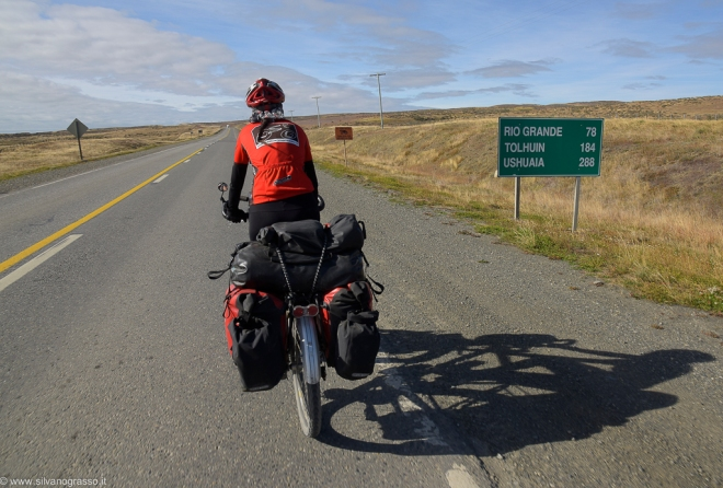 Meno di trecento km a...Ushuaia!
